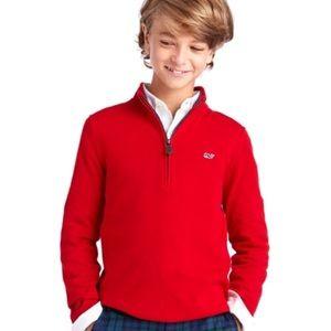 Vineyard Vines Boys 1/2 Zip Sweater XL